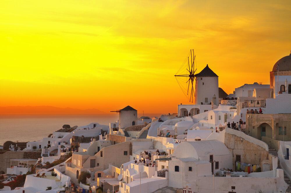 Apus de soare Santorini