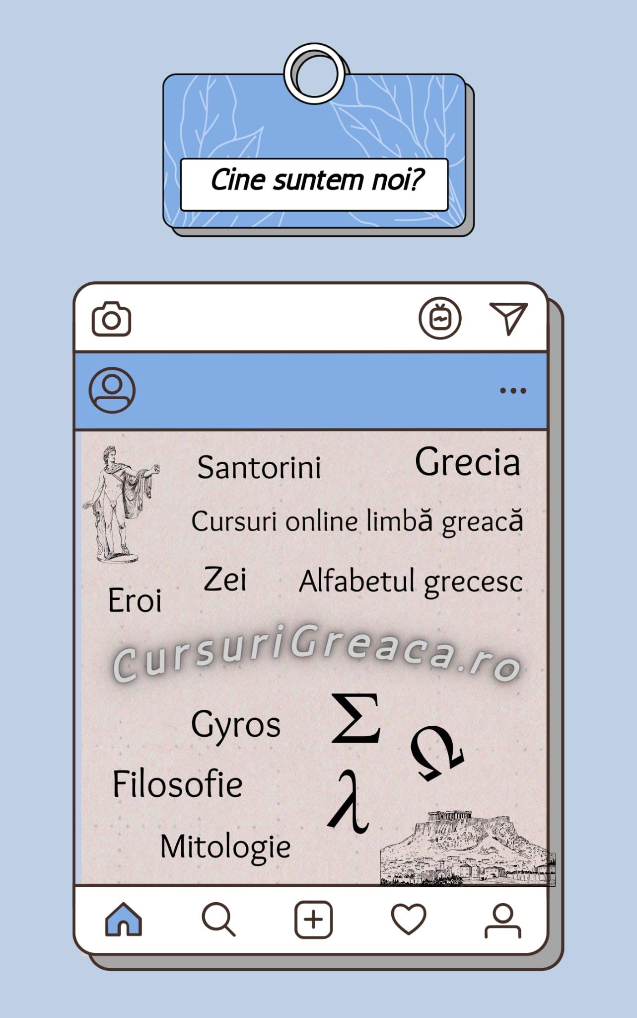 Cursuri online de limba greacă-cine suntem noi