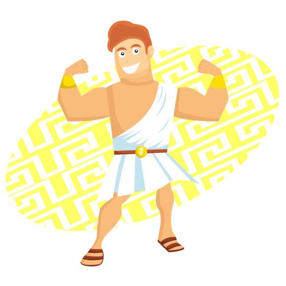 Episod din amorurile mitologice: Alcmena, Zeus și Hercule
